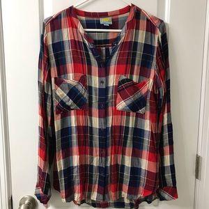 C&C California Plaid Button-Down Shirt